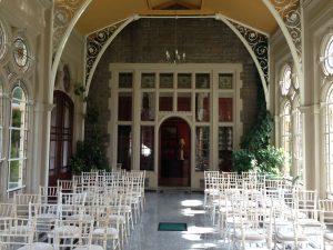 Civil Ceremony in Orangery